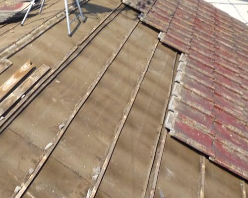 瓦屋根の葺き替え 施工例