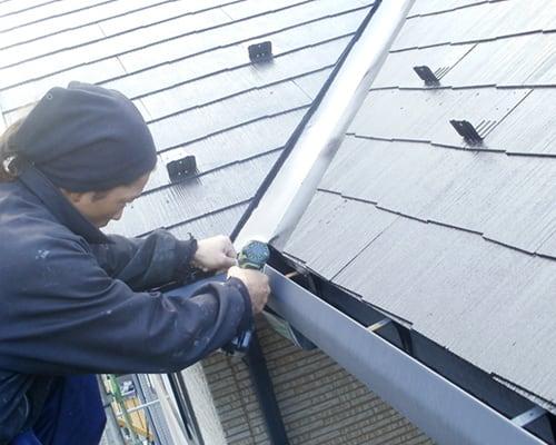 仙台で屋根の修理の工事を行う菊地板金工業の施工例