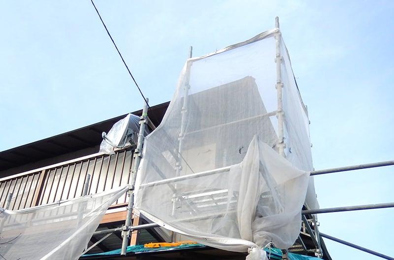 仙台市の菊地板金工業の屋根工事の流れその1